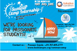 Lead Summer Camp Internship
